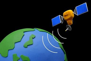 人工衛星,地震